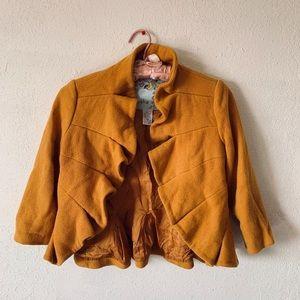 Mustard Anthropology Jacket!